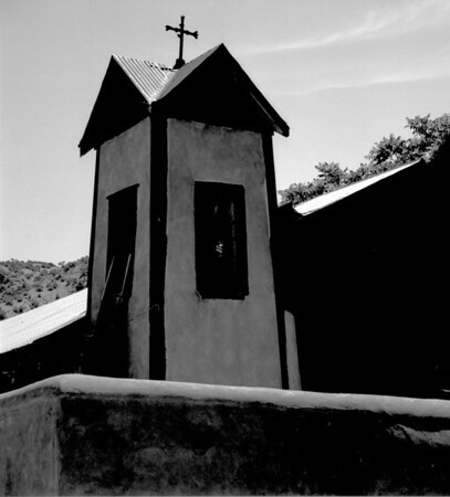 <center><h2>'Tower - Santuario de Chimayo'</h2>   Chimayo, NM</center>
