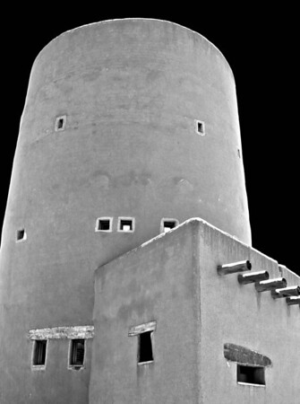 "<center><h2>'Tower' </h2>Pojoaque Pueblo, NM   12""x16"", Luster paper <em>limited edition of 25</em></center>"
