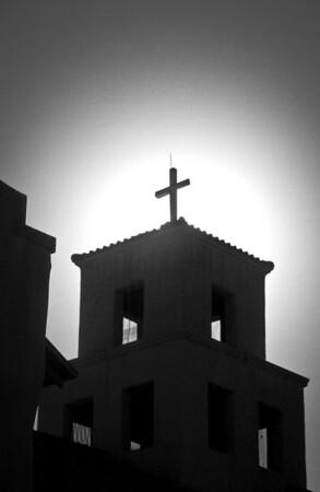 """<center><h2>'Sunrise at Cristo Rey' </h2>Santa Fe, NM  12""""x16"""", Luster paper <em>limited edition of 100</em></center>"""