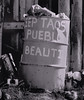 <center><h2>'Pueblo Trash' </h2>  Taos Pueblo, New Mexico</center>