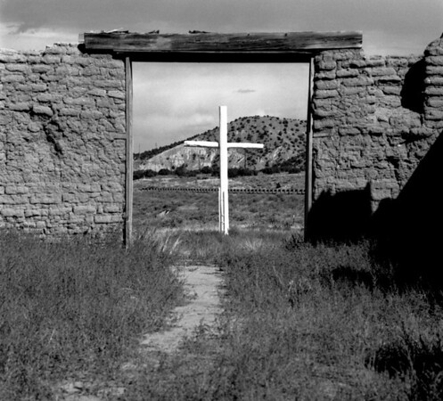 <center><h2>'Abandon Adobe Chapel #2'</h2>(interior) Trampas, NM</center>