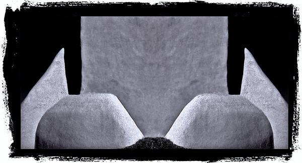 """<center><h2> """"Mission Illusion - #1"""" </h2> 'San Francisco de Asis  Rancho de Taos, NM   Fine Art paper, Archival (270 gram) <em>limited edition of 25</em></center>"""