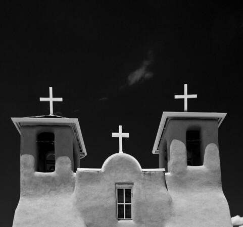 "<center><h2>'San Francisco de Asis series - #10'. </h2>Rancho de Taos, NM   12""x16"", Luster paper <em>limited edition of 100</em></center>"