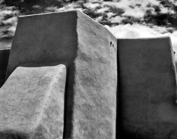 "<center><h2>'San Francisco de Asis series - #9'. </h2>Rancho de Taos, NM   12""x16"", Luster paper <em>limited edition of 100</em></center>"