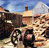 <center><h2>'Wood Pile'</h2>   Bodie, CA</center>