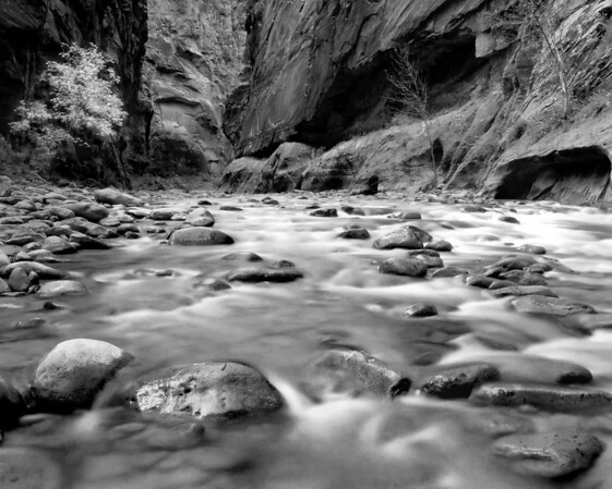 <center><h2>'The Narrows'</h2>   Zion National Park, Utah