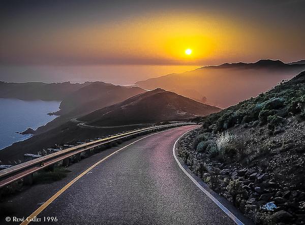 Highway 1 - Big Sur,  CA