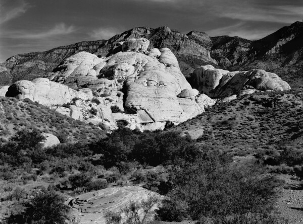 <center><h2>'Rock Outcrop'</h2> Redrock Canyon,  Las Vegas, NV</center>