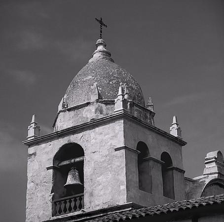 <center><h2>'Bell Tower'</h2>   Carmel Mission,  Carmel,CA