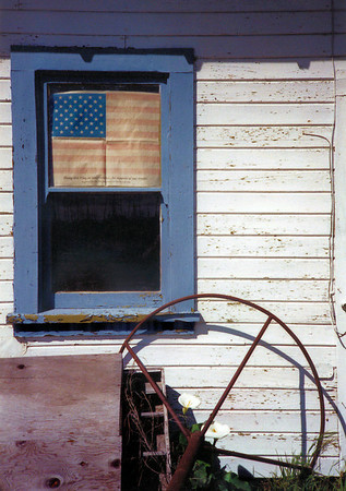 <center><h2>'Flag Window'</h2>  Cripple Creek, Co, </center>