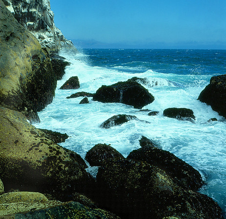 "<center><h2>""Monterey Bay' </h2>Pacific Grove, CA (color)</center>"