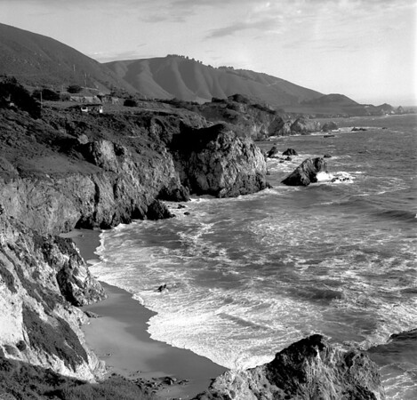 <center><h2>'Pacific Shoreline at Big Sur'</h2>Big Sur, CA</center>