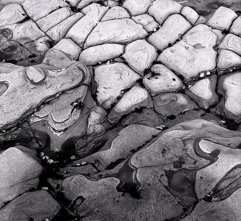 <center><h2>Tide Pool Rocks - Study #2 </h2>  Weston Beach, Carmel. Ca  </center>