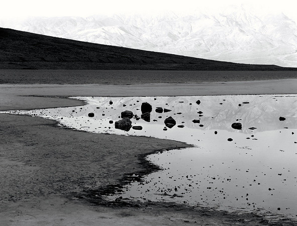 <center><h2>'Bad Water at Dawn'</h2>Dealth Valley, CA</center>