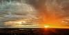 Sunset over Newbury