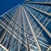 Cloudscraper in Blue