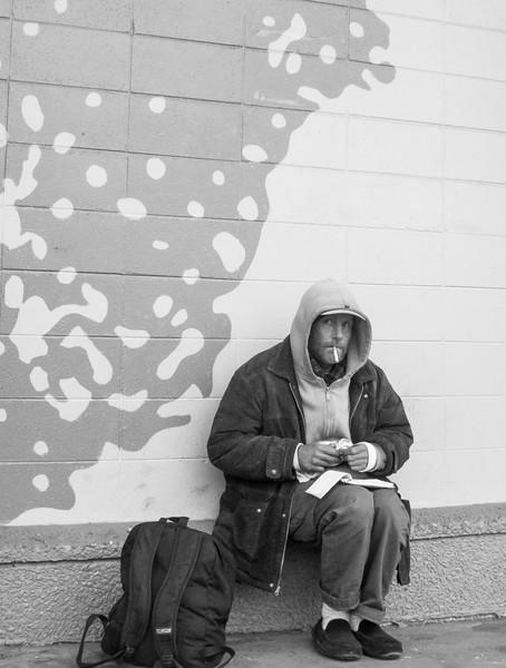 Man Eyeing Photographer (Boulder, Jan 2010)