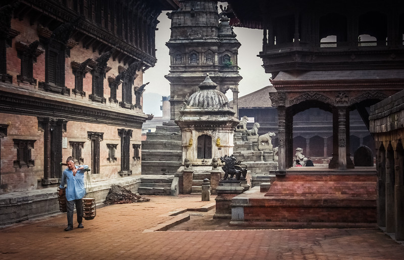 Early morning, Bhaktapur