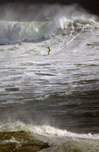 Steamer Lane, Santa Cruz, California - 80's
