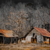 "<center><h2>'Abandon Homestead'</h2>Buffington, GA  12""x16"" on 13""x19""  Premium Luster Photo Paper Edition of 25</center>"