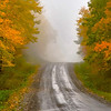 "<center><h2>' Autumn Trail '</h2> Cashiers, NC  Matted 16""x20"", on Luster Photo paper (12 mil)  </center>"