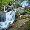 """<center><h2>' Base of the Falls'</h2> Amalacola Falls, Georgia  12""""x16"""" on 13""""x19""""  Premium Luster Photo Paper Edition of 25</center>"""