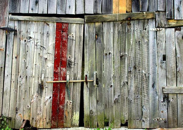 <center><h2>'Barn Doors'</h2> Valle Crucis, NC</center>