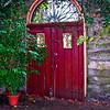 <center><h2>'Red Garden Portal'</h2> St. Augustine, FL  </center>