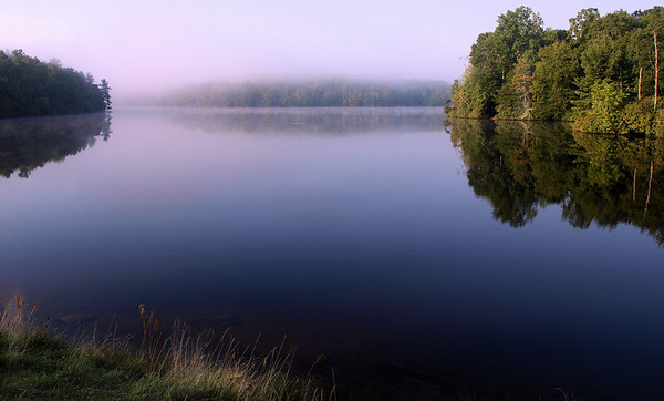 <center><h2>'Price Lake Morning'</h2> Blue Ridge Parkway Blowing Rock, NC</center>