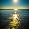 """<center><h2>' Sunrise at Low Tide ' </h2>Tampa Bay from St Petersburg water front  12""""x16"""", Luster paper (12 mil) © R.Gallet 2015 $185.00  Also available as a note card </center>"""