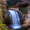 <center><h2>'Looking Glass Falls'</h2>   Pisca National Forest, NC</center>