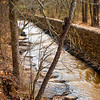 "<center><h2>' Rope Mill Flume Channel '</h2>  Woodstock, GA  Matted 16""x20"", on Luster Photo paper (12 mil) © 2013 René Gallet </center>"