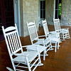 "<center><h2>""Veranda Seating""</h2>   Eurika Springs, AR  12""x14"" on 13""x19"" Luster Paper"