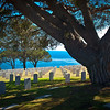 "<center><h2>' Our Heros '</h2>  Point Loma National Cemetery ,  San Diego. CA  Matted 16"" x 20"",  Photo Luster paper (12 mil) Open edition </center>"