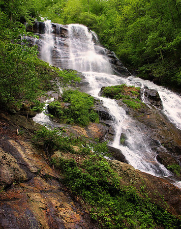 "<center><h2>'The Top of Amacola Falls'</h2>  Amicalola Falls, Jasper, GA 12""x14"" on 13""x19"" Luster Paper Limited edition of 25</center>"