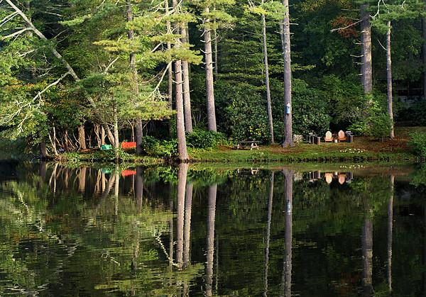 <center><h2>'Mirror Lake Morning'</h2>   Highlands, NC</center>
