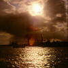 <center><h2>'Harbor Sunset'  </h2> Hamburg, Germany</center>