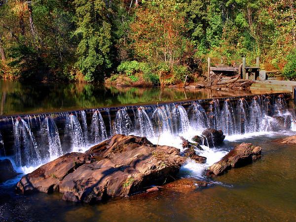 <center><h2>'Mill Pond & Dam'</h2>  Helen, GA </center>