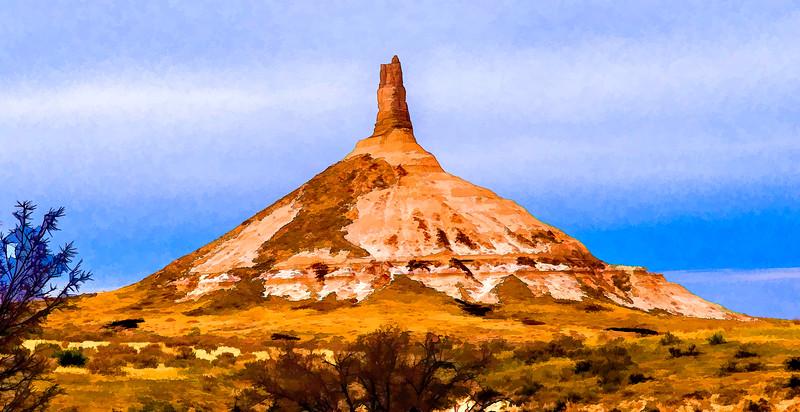 Chimney Rock (Nebraska; 2007-11-11)