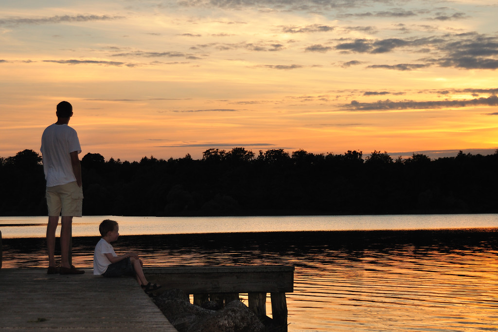 Esrum Lake, Denmark