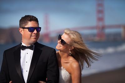 Lisa and Marshal post wedding