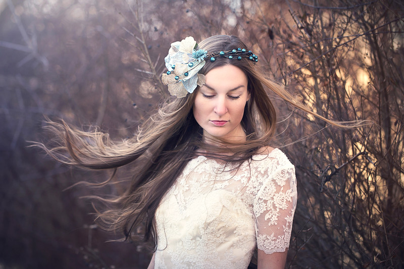Leeandis bridal Kristen Rice floral headpiece Charity blue edit 2 3 edit for MOO