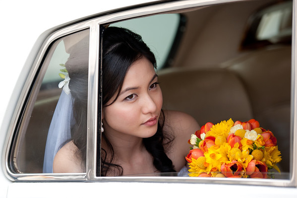 Wedding Photography Perth wa bride car