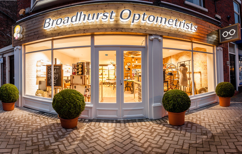 Broadhurst Optometrists opening night Lytham