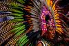 Indian in Parade in San Miquel de Allende Mexico
