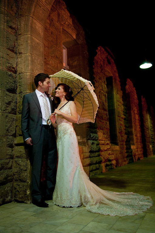 Wedding Photographer Perth Night photos Umbrella