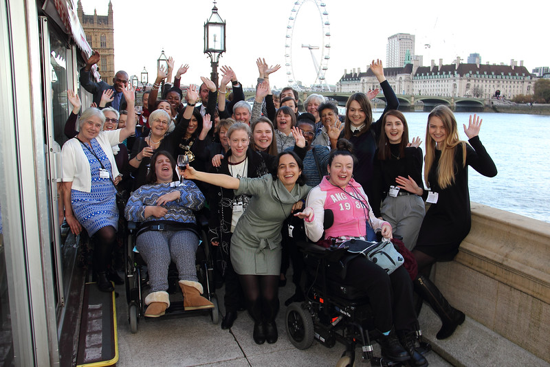 2016 at the House of Lords - Celebrating 100 years since Elfrida Rathbone began working with children with learning disabilities in King's Cross.