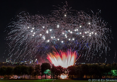 St. Edward's Fireworks