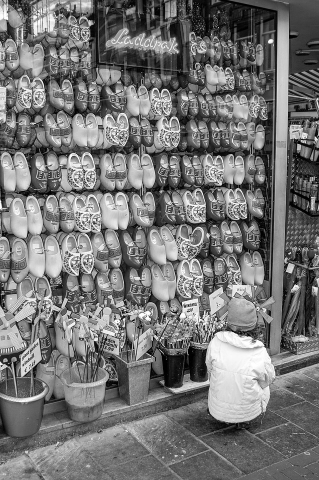Wooden Shoes Girl