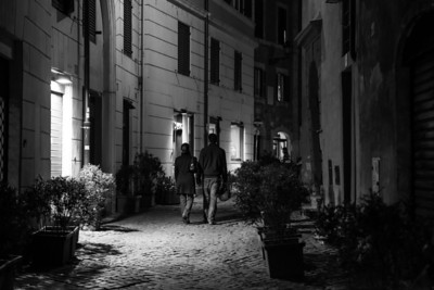 Rome Alley Couple